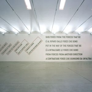 Lawrence Weiner 2005