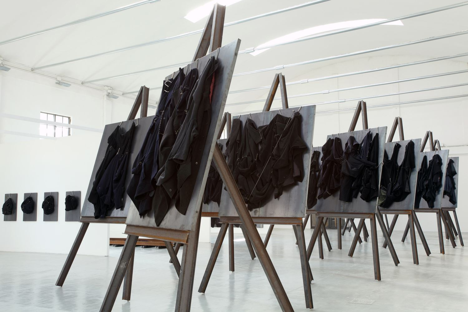 Kounellis, Installation view