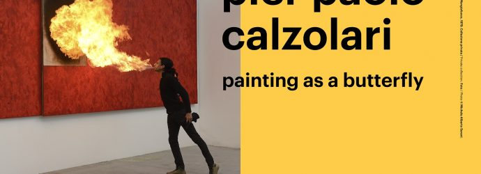 Pier Paolo Calzolari | Painting as a Butterfly